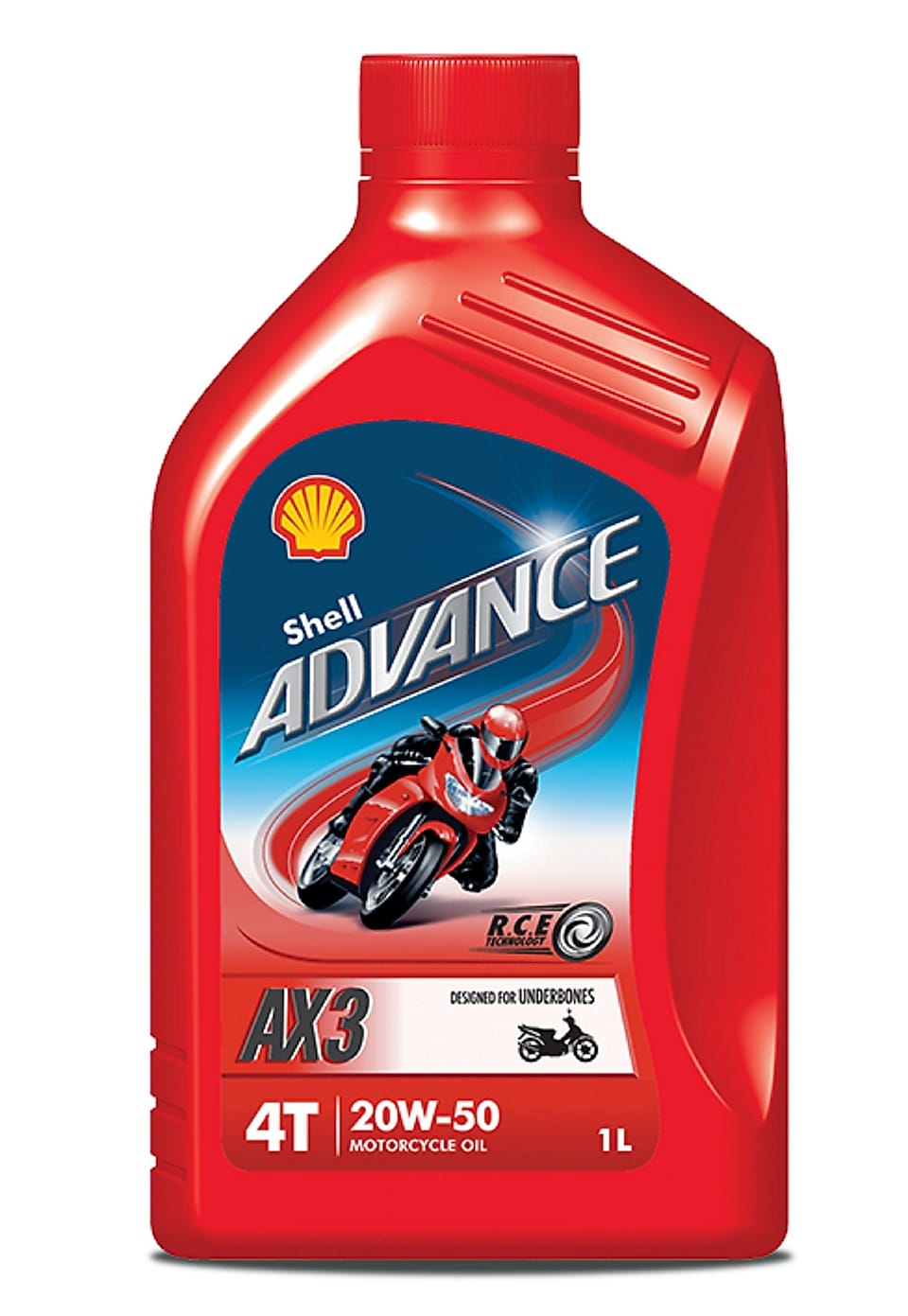 Shell Advance AX3 1 litre